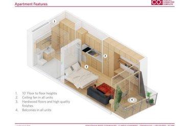 แนวคิดบ้านขนาดเล็กแบบยั่งยืน..พื้นที่บ้านเพียง 28 ตรม. แต่มีพื้นที่ส่วนกลางร่วมกันมาก 19 - Apartment