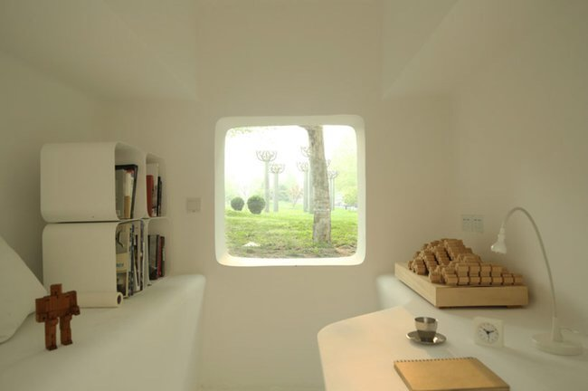 IMG 5344 Micro House บ้านขนาดจิ๋วที่ยกย้ายและวางซ้อนต่อกันได้
