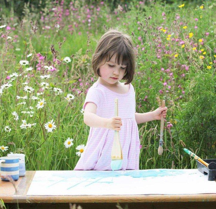 IMG 5930 มหัศจรรย์ภาพวาดงดงาม โดยเด็กหญิงออติสติกวัย 5ขวบ