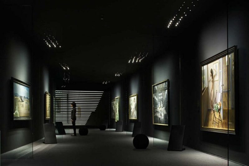 hoki museum by nikken sekkei 83 Hoki Museum พิพิธภัณฑ์แห่งภาพวาดเหมือนจริง