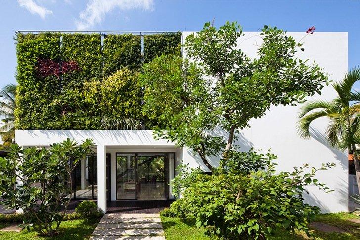 เปลี่ยนบ้านเก่าเป็นบ้านสมัยใหม่ ด้วยผนังมีชีวิต 13 - Art Deco