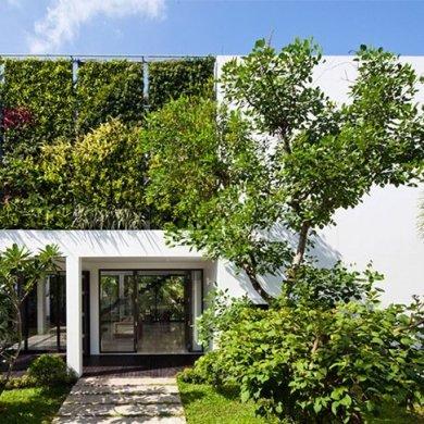 เปลี่ยนบ้านเก่าเป็นบ้านสมัยใหม่ ด้วยผนังมีชีวิต 15 - Art Deco