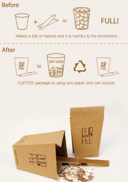 IMG 6371 CUP.FEE ดีไซน์ฉลาดๆของถ้วยกระดาษใช้แล้วทิ้ง ที่ช่วยให้พื้นที่ขยะลดลง