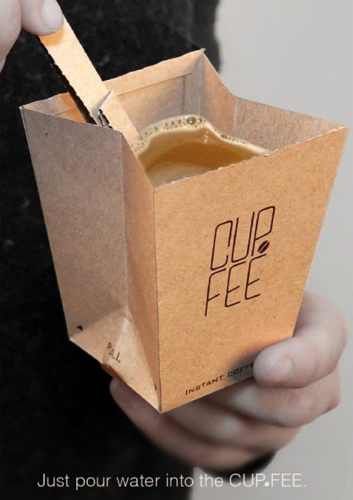 CUP.FEE ดีไซน์ฉลาดๆของถ้วยกระดาษใช้แล้วทิ้ง ที่ช่วยให้พื้นที่ขยะลดลง 13 - Art & Design