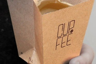 CUP.FEE ดีไซน์ฉลาดๆของถ้วยกระดาษใช้แล้วทิ้ง ที่ช่วยให้พื้นที่ขยะลดลง 20 - Coffee