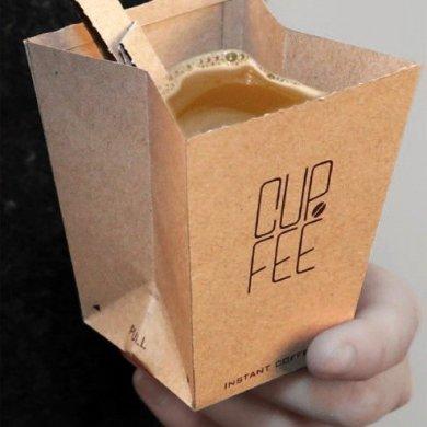 CUP.FEE ดีไซน์ฉลาดๆของถ้วยกระดาษใช้แล้วทิ้ง ที่ช่วยให้พื้นที่ขยะลดลง 18 - Art & Design