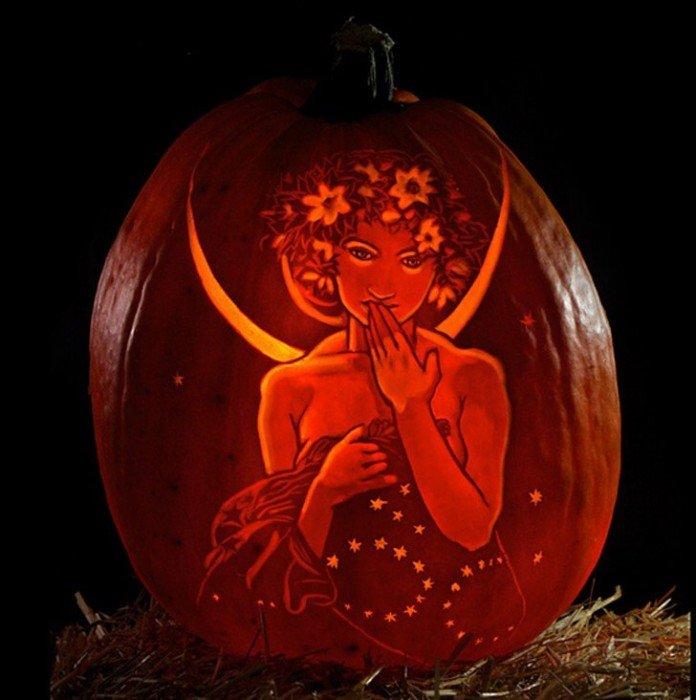 เมื่อศิลปินเปลี่ยนฟักทองเป็นธุรกิจทำเงิน ในช่วงเดือนตุลาคม 13 - Carving