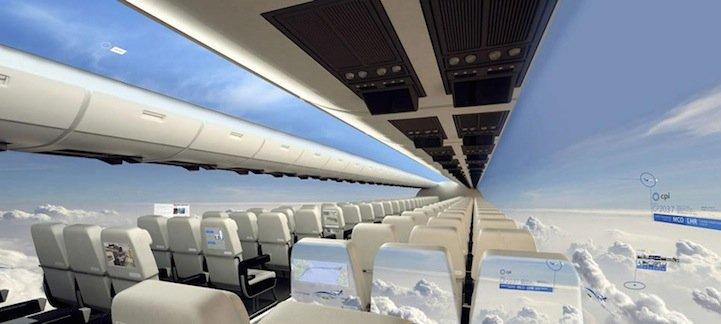 IMG 6946 เครื่องบินไร้หน้าต่าง..ยังกับนั่งบนพรมวิเศษไปกับอาลาดินเลย