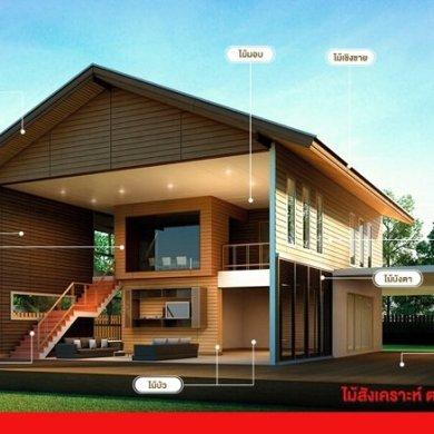 หลักการเลือกซื้อไม้สังเคราะห์เพื่อให้บ้านคงความสวยงามไม่ซีดจาง 27 - fiber cement wood