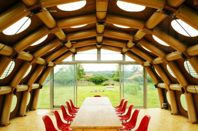 Paper Pavilion โครงสร้างจากแกนกระดาษรีไซเคิล 13 - Environment