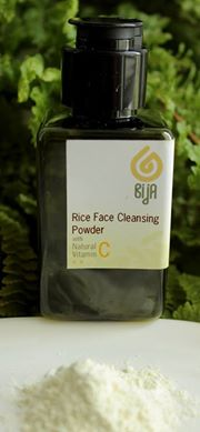 Rice face cleansing powder
