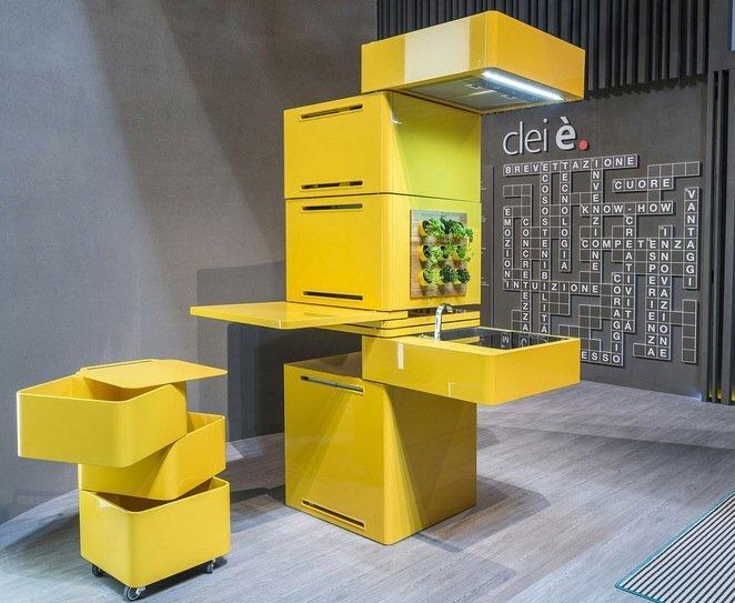 ห้องครัวขนาด 27 ตร.นิ้ว มีครบทั้งตู้เย็น โต๊ะ ไมโครเวฟ เครื่องล้างจาน อ่างเอนกประสงค์ 13 - micro apartment