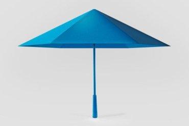 ร่ม รูปทรงเรขาคณิต เหมือนงานพับกระดาษ Origami เบากว่า แข็งแรงกว่า สวยแปลกตา 18 - origami