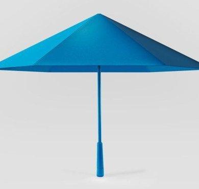 ร่ม รูปทรงเรขาคณิต เหมือนงานพับกระดาษ Origami เบากว่า แข็งแรงกว่า สวยแปลกตา 15 - origami