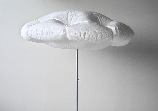 IMG 7212 ร่มที่กางได้เอง กลายเป็นก้อนเมฆ เมื่อโดนแสงแดด