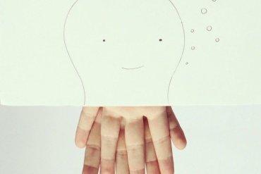เมื่อศิลปินอารมณ์ดี สร้างภาพลายเส้นง่ายๆ กับนิ้วมือของเขาเอง 17 - Artist