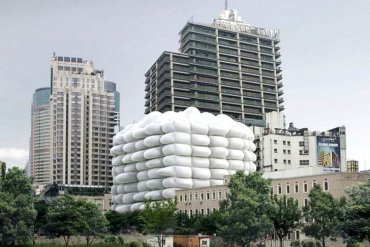 Bubble Building ..ผนังเป่าลม ป้องกันแบคทีเรีย 13 - ออกแบบอาคาร