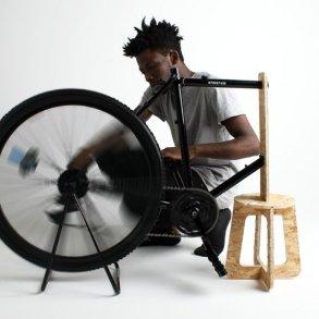 เครื่องเหวี่ยงเพื่อหาปริมาณเม็ดเลือดแดงราคาถูกทำจากล้อจักรยาน เพื่อช่วยผู้ป่วยอัฟริกันในเขตห่างไกล 25 - Africa