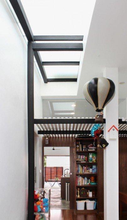 IMG 7438 ปรับปรุงทาวน์เฮาส์เก่า 60ปี เป็นบ้านสมัยใหม่ พื้นคอนกรีต สว่าง โปร่ง โล่ง