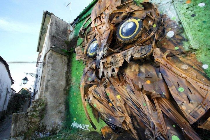 IMG 7831 รีไซเคิล ขยะ ให้เป็นงานศิลปะ 3D Street Art