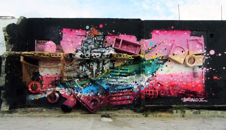 IMG 7834 รีไซเคิล ขยะ ให้เป็นงานศิลปะ 3D Street Art
