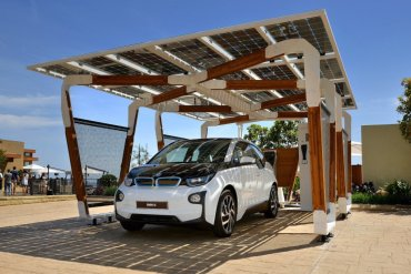 I SOLAR CARPORT ที่จอดรถชาร์จไฟด้วยพลังงานแสงอาทิตย์ 19 - Car