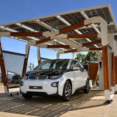 I SOLAR CARPORT ที่จอดรถชาร์จไฟด้วยพลังงานแสงอาทิตย์ 18 - Car