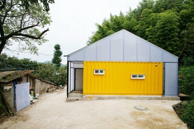 บ้านราคาประหยัด จากตู้คอนเทนเนอร์ 13 - container