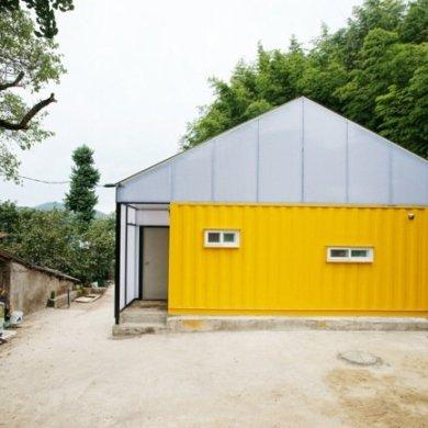 บ้านราคาประหยัด จากตู้คอนเทนเนอร์ 14 - container