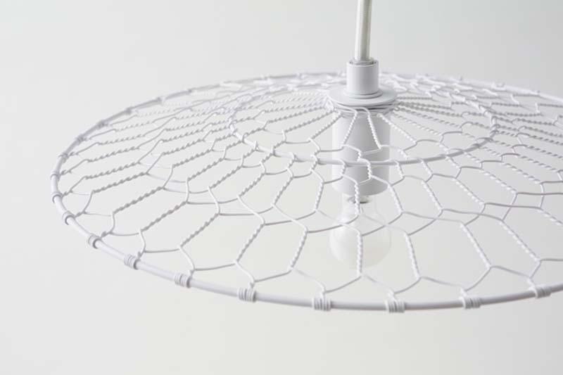 3 basket lamp by nendo kyoto kanaami tsuji Basket Lamp โคมไฟที่ใช้เทคนิคการตัดอุปกรณ์การทอดเต้าหู้