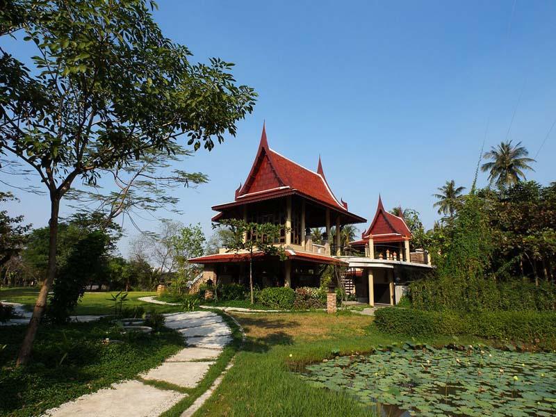 """30616968 พิพิธภัณฑ์ปลากัดไทย ตั้งอยู่ในพื้นที่ """"เกาะกระเพาะหมู"""""""