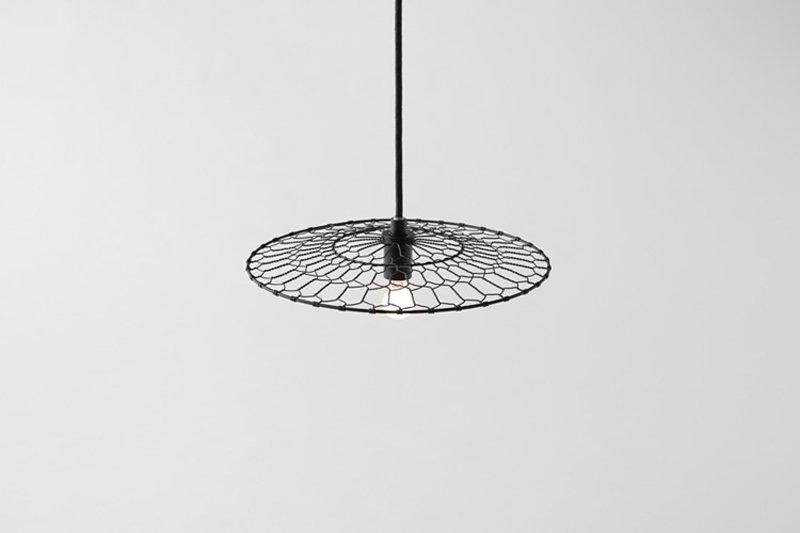 5 basket lamp by nendo kyoto kanaami tsuji Basket Lamp โคมไฟที่ใช้เทคนิคการตัดอุปกรณ์การทอดเต้าหู้