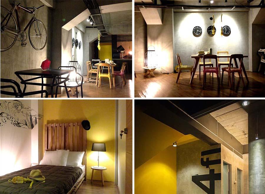 C1 POD Hostel Cafe Design Shop