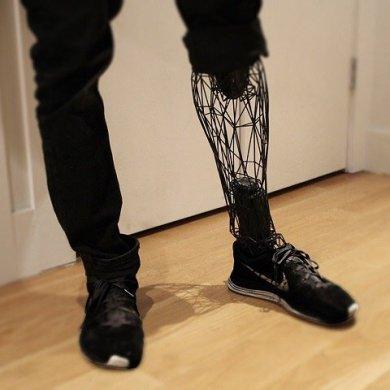 ขาเทียมไททาเนียม โดยการพิมพ์ 3 มิติ แข็งแรง เบา สวยงาม 16 - 3D