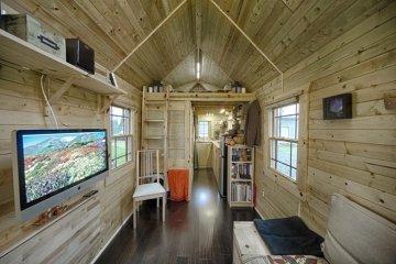 บ้านที่สร้างแบบ DIY พื้นที่ 13 ตรม. มีครบทั้งห้องนั่งเล่น ครัว ห้องน้ำ ห้องนอน 12 - small space