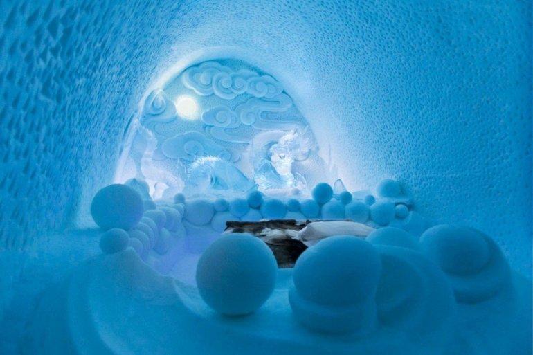 ICE HOTEL..โรงแรมน้ำแข็ง ที่สร้างใหม่ไม่ซ้ำเดิม และละลายคืนสู่แม่น้ำในทุกๆปี 13 - Hotel