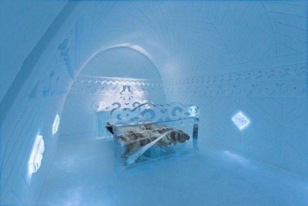 IMG 9894 ICE HOTEL..โรงแรมน้ำแข็ง ที่สร้างใหม่ไม่ซ้ำเดิม และละลายคืนสู่แม่น้ำในทุกๆปี