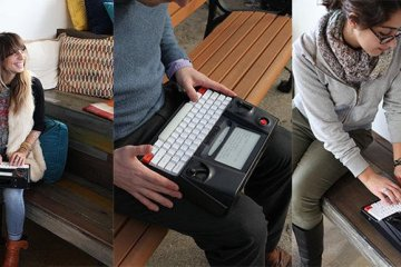 Hemingwrite   9 - typewriter