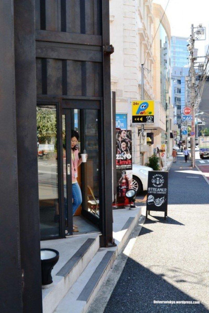 Streamer Coffee Companyร้านกาแฟเท่ๆหัวมุมถนนใกล้ๆย่านHarajuku 14 - cafe
