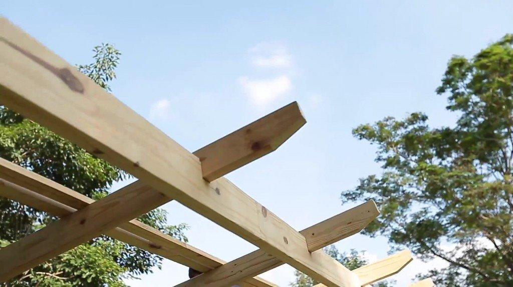 DIY ศาลานั่งเล่นในสวน ทำเองได้ง่ายๆงบไม่บาน 27 - 100 Share+