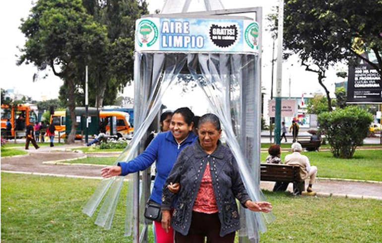 A Giant Air Purifier For a City in Peru ซุปเปอร์ต้นไม้ 13 - Air