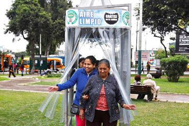 A Giant Air Purifier For a City in Peru ซุปเปอร์ต้นไม้ 20 - HEALTH
