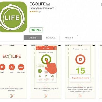 ECO Life app สนุกกับการเดินทาง ได้ประหยัดพลังงาน และสะสมแต้มรับของรางวัล 16 - Eco