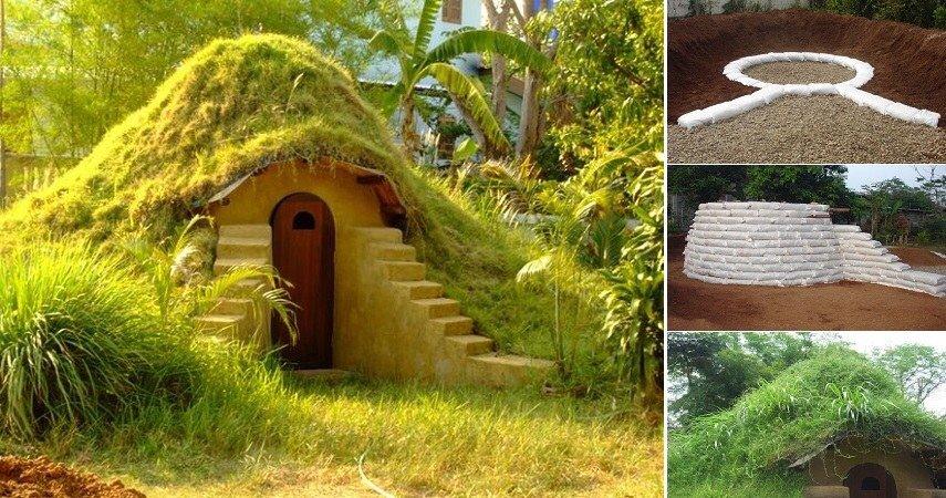 สร้างบ้านเอง Hobbit House บ้านดิน DIY ง่ายๆด้วยตัวเอง งบไม่เกินหมื่น 14 - clay house