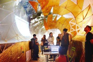 Classroom For Urban Education ถังขยะเหล็กขนาดใหญ่ในพื้นที่สาธารณะกลายเป็นห้องเรียนในเมือง 2 - Classroom