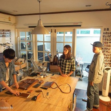 Craftsmangus Art School โรงเรียนสอนสร้างสรรค์งานเครื่องหนัง 26 - bag