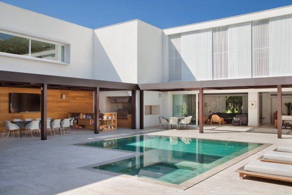 รั้วบ้านกันเสียงและได้ภาพงดงามเหมือนฝัน 29 - courtyard