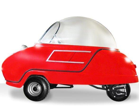 Peel P50 รถไฟฟ้าที่เล็กและน่ารักที่สุดในโลก! 16 - Car
