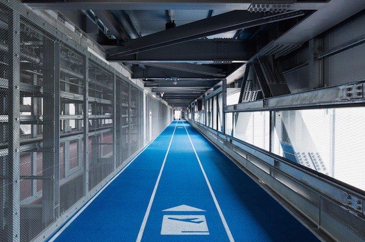 สนามบินNaritaในโตเกียว เปลี่ยนทางเลื่อนเป็นลู่วิ่งเพื่อต้อนรับโอลิมปิค2020 20 - airport