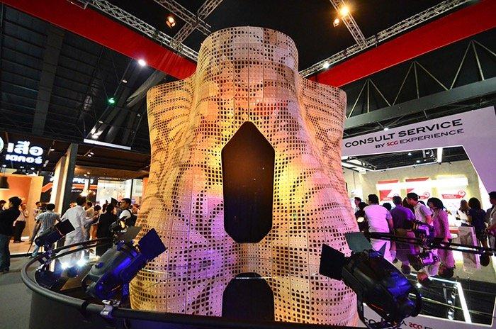 IMG 3184 ทำได้ไง? 3D Printing ซีเมนต์ใหญ่ที่สุดในโลก!! นวัตกรรมใหม่ที่บูธ SCG ในงานสถาปนิก 58